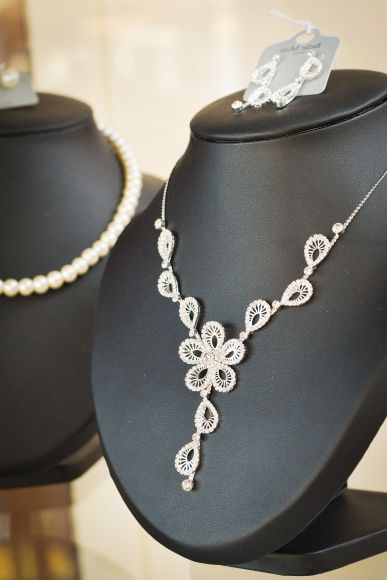 collier mariée, collier mariage, bijoux calvados