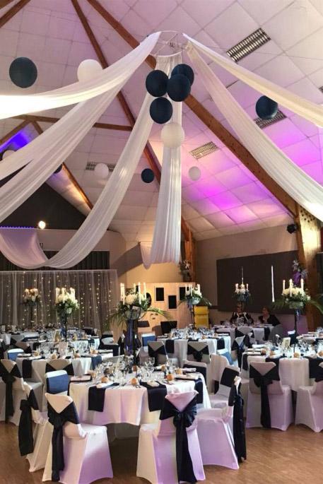 décoration salle mariage, décoration lisieux, jour j, évènements, mariage normandie, orne, eure