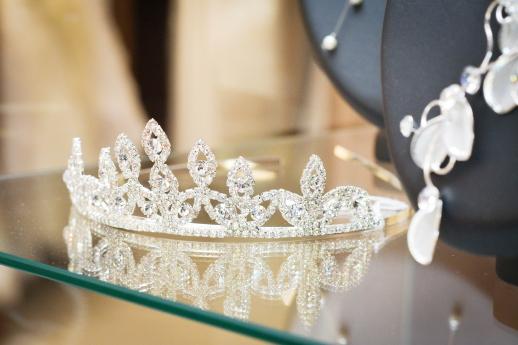 diadème, bijoux, wedding planner, évènements, calvados