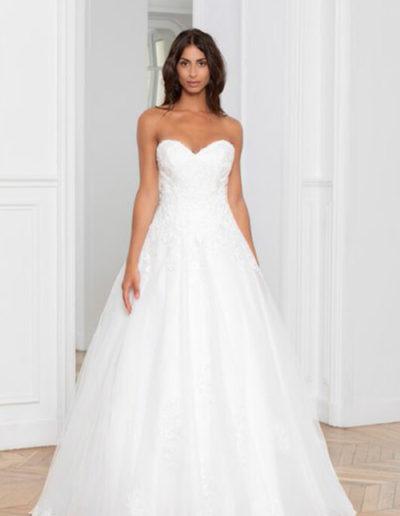 Robe de mariée-224-13 FACE
