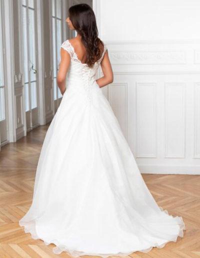 Robe de mariée-224-14 DOS