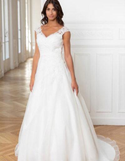 Robe de mariée-224-14 FACE