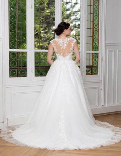 Robe de mariée-224-16 DOS