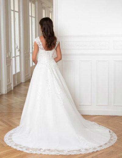 Robe de mariée-224-18 DOS