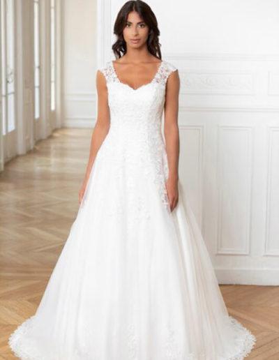 Robe de mariée-224-18 FACE