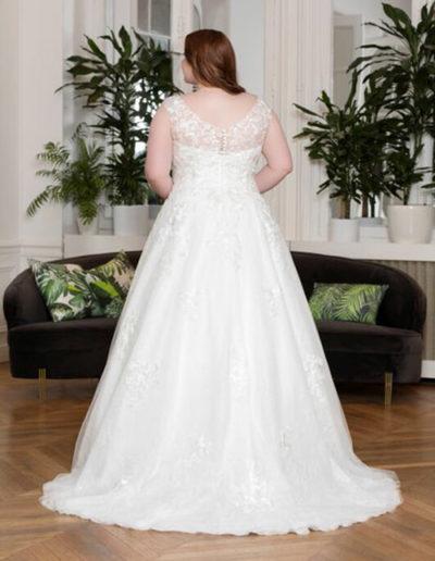 Robe de mariée-228-03 DOS