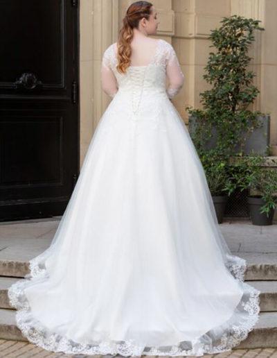 Robe de mariée-228-08 DOS