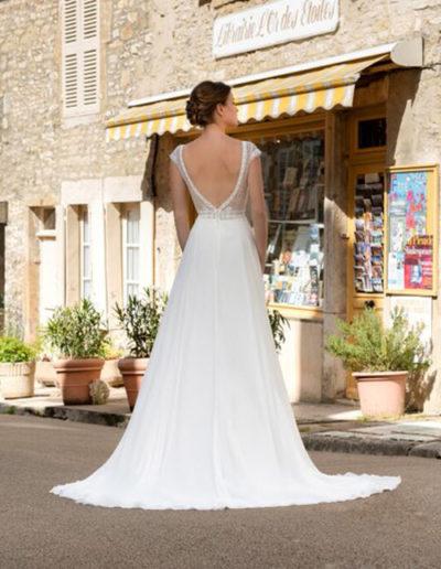 Robe de mariée-BM 22-02 DOS