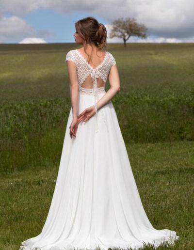 Robe de mariée-BM 22-09 DOS