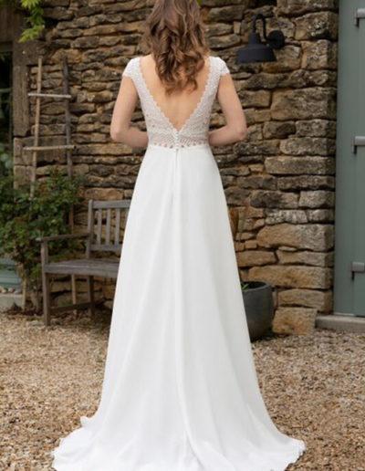 Robe de mariée-BM 22-20 DOS
