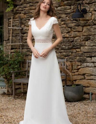 Robe de mariée-BM 22-20 FACE